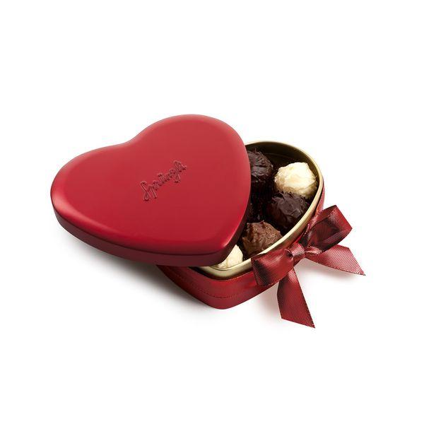 Sprüngli Heart Tin Image