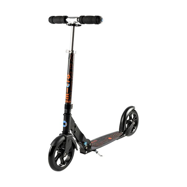Micro BLACK Scooter Image