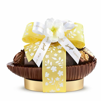 Sprüngli Easter Egg with 20 Truffles and Pralines