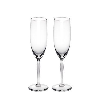 Lalique 100 POINTS Champagne Flute Set 2pcs