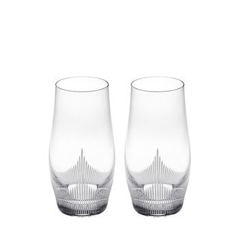 Lalique 100 POINTS Highball Glass Set 2pcs