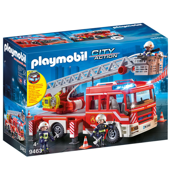 Playmobil® Fire Department Ladder Vehicle Image