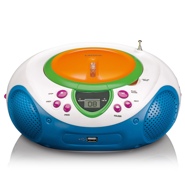 Lenco SCD-40 Kids Radio with CD + USB Image