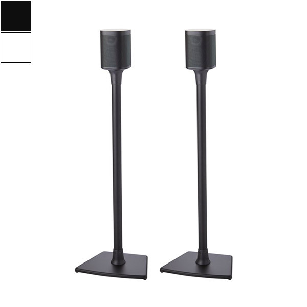 Sonos ONE Speaker Set with Floor Stand Image